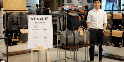 """แฟนคลับไทยได้เฮ เปิดตัว ว็องค์ """"VENQUE"""" กระเป๋าชั้นเชิงศิลป์จากแคนนาดา เข้าใจทุกไลฟ์สไตล์คนเมือง"""