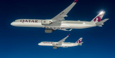 แอร์บัสส่งมอบเครื่องบิน เอ350-1000 ลำแรกให้แก่ลูกค้ารายแรกอย่างกาตาร์แอร์เวย์