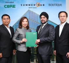 Boutique Corporation appoints CBRE as the sole leasing agent for Summer Hub Offices