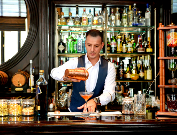 Sarkies Bar Takeover at Scarlett Bangkok with Mixologist Francesco Moretti