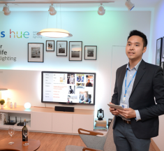 "Philips unveils ""Philips Hue"" application controlled lighting gadget that will ""Light your home smarter"" with 16 million colors"