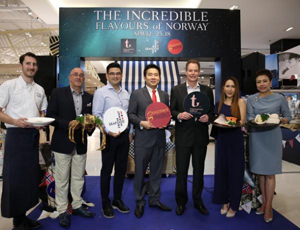 สภาอุตสาหกรรมอาหารทะเลนอร์เวย์ จับมือ ธรรมชาติ ซีฟู้ด รีเทล เปิดตัวตราสัญลักษณ์อาหารทะเลจากนอร์เวย์ครั้งแรกในประเทศไทย