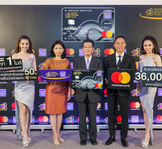 """AEON and Thai Airways launches """"AEON Royal Orchid Plus World Mastercard"""" Offering Exclusive World Class Travel Experiences"""