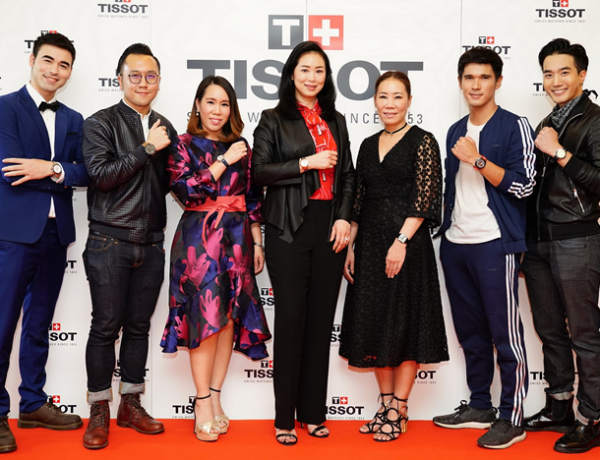 TISSOT เปิดตัว T-Race MotoGPTM Limited Edition 2018 ประเดิมสนามแข่ง MotoGPTM ที่บุรีรัมย์ ครั้งแรกในประเทศไทย