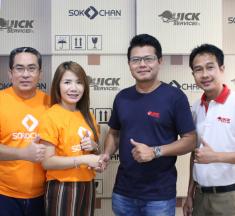 Sokochan จับมือ Quick Service ซัพพอร์ตร้านค้าออนไลน์