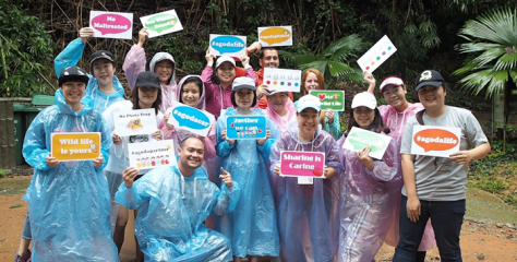 No monkeying around for the Agoda team as they help save Gibbons in Phuket